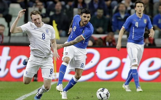 Italy England Soccer